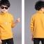 C119-54 เสื้อกันหนาวเด็กสีเหลือง บุขนนุ่มๆเพิ่มความอบอุ่น ใส่สบาย size 120-160 thumbnail 3