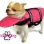 เสื้อชูชีพสุนัข Dogtalog แบบมีรองคอถอดได้ : สีชมพู thumbnail 8