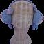 สะเปาปิดหู กันหนาว สีม่วงเทาผสม (ผู้หญิง)