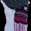 ผ้าพันคอ รับลมหนาว ชาวเหนือ (แดงผสมดำขาว)