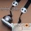 สายคล้องกล้องลายการ์ตูน Panda Strap สีดำ thumbnail 8
