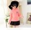 C129-24 เสื้อกันหนาวเด็กคอสูงผ้าพื้นสีชมพู ผ้าขนนุ่ม สวย ใส่อุ่น size 120-160 thumbnail 1