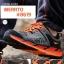 รองเท้าผ้าใบหนังแท้ ยี่ห้อ Merrto รุ่น 8619 สีเทา/ส้ม thumbnail 2