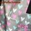 ผ้าปูกันเปื้อนในรถยนต์ : สีเทาลายหัวใจ thumbnail 3