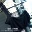 (SALE) เสื้อกล้ามลูกไม้ยืด สีดำ thumbnail 1