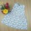 เดรสกระโปรงผ้าคอตตอน (ผ้า Wacoal) (1,2,3,4 ปี) thumbnail 1
