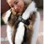 Pre-Order Milan Fashion Week catwalk raccoon fur shawl scarf **สินค้าPre-Order เปิดรับอีกครั้งวันที่ 1 กพ.60 ( ติดเทศกาลตรุษจีน ) ได้สินค้าประมาณต้นเดือนมีนาคม 60 thumbnail 4