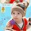 พร้อมส่ง หมวกกันหนาวเด็ก CH01-62 thumbnail 2
