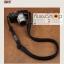 สายกล้องผ้าปรับสายได้ รุ่นปลายหนังแท้ สีดำ thumbnail 3