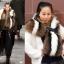 Pre-Order Milan Fashion Week catwalk raccoon fur shawl scarf **สินค้าPre-Order เปิดรับอีกครั้งวันที่ 1 กพ.60 ( ติดเทศกาลตรุษจีน ) ได้สินค้าประมาณต้นเดือนมีนาคม 60 thumbnail 1