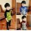 C117-33 เสื้อกันหนาวเด็กชาย พิมพ์ลายสวย ผ้ามีขนนุ่มๆเพิ่มความอบอุ่น สวมใส่สบาย size 110-160 thumbnail 1