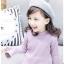 C121-23 เสื้อกันหนาวเด็กสีม่วง บุผ้าขนสำลีนุ่ม สวยอุ่น พร้อมส่ง size 100-140 thumbnail 1