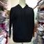 เสื้อแฟชั่น มีฮูด แขนยาว สีพื้น สีดำ (ผ้าไม่หนา) thumbnail 2