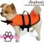 เสื้อชูชีพสุนัขแบบแฟนซี : ชุดฉลาม สีส้ม thumbnail 2