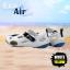 รองเท้าลุยน้ำ แห้งไว EVA Air สีขาว/เหลือง thumbnail 1