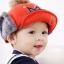 CH115-41 หมวกกันหนาวเด็กกระดุมถอดออกเป็นที่ปิดหูได้ มี 5 สีให้เลือก ขนาดรอบวงศรีษะ 48-52 cm สำหรับเด็ก 2-5 ขวบ thumbnail 1