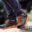 รองเท้าผ้าใบหนังแท้ ยี่ห้อ Merrto รุ่น 8619 สีเทา/ส้ม thumbnail 1