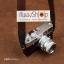 สายกล้องคล้องคอ cam-in สีพื้นเส้นเล็ก สีน้ำตาลเข้ม แบบห่วง 25 mm thumbnail 7