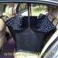 ผ้าปูกันเปื้อนในรถยนต์ : สีดำลายเท้าหมา thumbnail 4