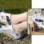 รองเท้าลุยน้ำ แห้งไว EVA Air สีขาว/เหลือง thumbnail 8