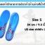 แผ่นรองเท้ารักษาอาการปวดเท้า (ด้านล่างสีน้ำเงิน) thumbnail 2