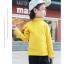 C122-85 เสื้อกันหนาวสีเหลือง มีขนกำมะหยี่นุ่ม ใส่ได้ทั้งชายหญิง สวย ใส่อุ่น size 110-160 thumbnail 2