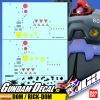 GUNDAM DECAL | MG MS-09 DOM / MS-09R RICK-DOM