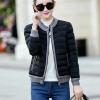 เสื้อกันหนาวผู้หญิงแฟชั่นเกาหลี สีดำ แจ็คเก็ตกันหนาวนุ่มๆ จั้มปลายแขนและชายเสื้อ