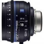 ZEISS CP.3 18mm T2.9 Compact Prime Lens (PL Mount, Feet)