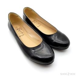 รองเท้าคัชชูส้นแบนRovy [W1207] - Black