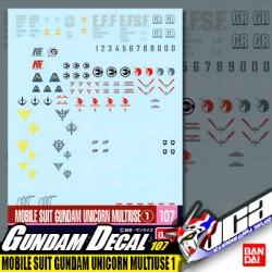 GD107 | MOBILE SUIT GUNDAM UNICORN MULTIUSE 1