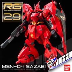 RG MSN-04 SAZABI
