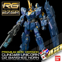 ★ LIMITED ★ RG UNICORN GUNDAM 02 BANSHEE NORN (PREMIUM BOX EDITION)