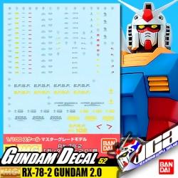 GD52 | MG RX-78-2 GUNDAM VER 2.0