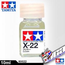 ACRYLIC X-22 ENAMEL CLEAR 10ML