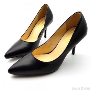 """รองเท้าคัทชูส้นเข็ม Zanotti [3""""][Black]"""