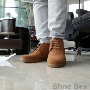 รองเท้าบูทชายPBshoe [PB702] - Brown