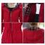 เสื้อกันหนาวผู้หญิงแฟชั่นเกาหลี สีแดง แจ็คเก็ตกันลมฮู้ดลายสก๊อต thumbnail 2