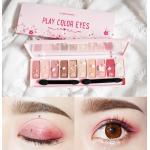 พร้อมส่ง Etude House Play Color Eyes Cherry Blossom 10g. พาเลทอายแชโดว์โทนสีหวาน สไตล์ดอกซากุระ เกลี่ยง่าย มีทั้งเนื้อแมตต์และประกายชิมเมอร์วิ้งๆ ตามสไตล์สาวเกาหลี