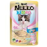 Nekko Kitten อาหารลูกแมว รสทูน่ามูส