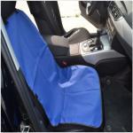 ที่นั่งสุนัขกันเปื้อนในรถยนต์เบาะหน้าสีน้ำเงิน