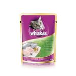 วิสกัส แมวโต 1+ ปลาทูน่าและปลาเนื้อขาว 85กรัมx24