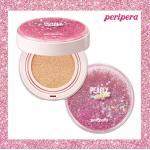 พร้อมส่ง Peripera Pearly Night Ink Lasting Cushion #Pink 14g. คุชชั่นสุดฟรุ้งฟริ้ง กลิตเตอร์ประกายวิ้งวับ เน้นการปกปิดได้เนียนกริบไม่แพ้รองพื้น เผยผิวกระจ่างใส อมชมพู