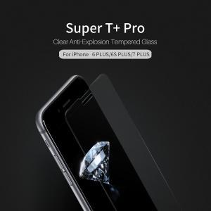 กระจกนิรภัย NILLKIN Super T+ PRO iPhone 8 Plus / 7 Plus / 6S Plus / 6 Plus แถมฟิล์มติดเลนส์กล้อง