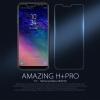 กระจกนิรภัย NILLKIN 9H+ PRO Galaxy A8 2018 แถมฟิล์มติดด้านหลัง