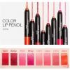 พร้อมส่ง A'pieu Color Lip Pencil Satin 1g. ลิปสติกแบบแท่งดินสอ เนื้อซาติน กำมะหยี่ เม็ดสีชัดเจน สีอิ่มสวย เนื้อนุ่นละมุน ทาง่าย ทาลื่น พร้อมสารบำรุงจากผลไม้ 5 ชนิด