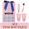 พร้อมส่ง 3CE Pink Boutique Set เซ็ตสุดคุ้ม!! มี 4 ไอเท็ม มีรองพื้น, แปรงรองพื้น, ครีมบำรุงผิว และ โฟมล้างหน้า มาพร้อมกล่องมีโบว์น่ารักๆ