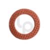 แหวนไฟเบอร์รองบู๊ช สีแดง แกน 9 มิล แพ๊ค 20 ตัว