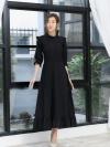 ชุดเดรสยาวสีดำ