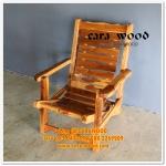 เตียง/เก้าอี้ระนาดไม้สักทอง สีเคลือบใส